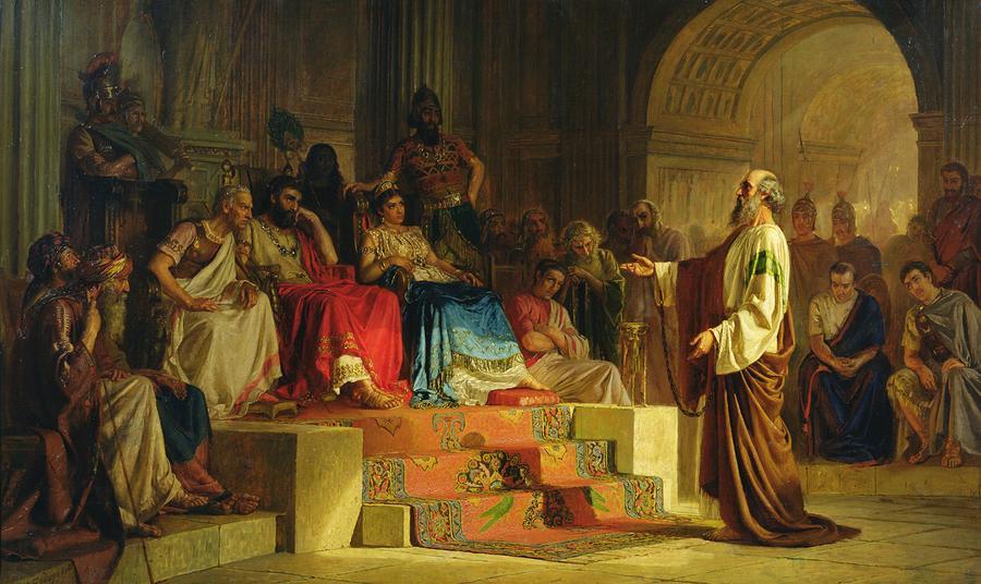 Paul di iktiraf sebagai utusan Jesus Christ pbuh dalam Quran?